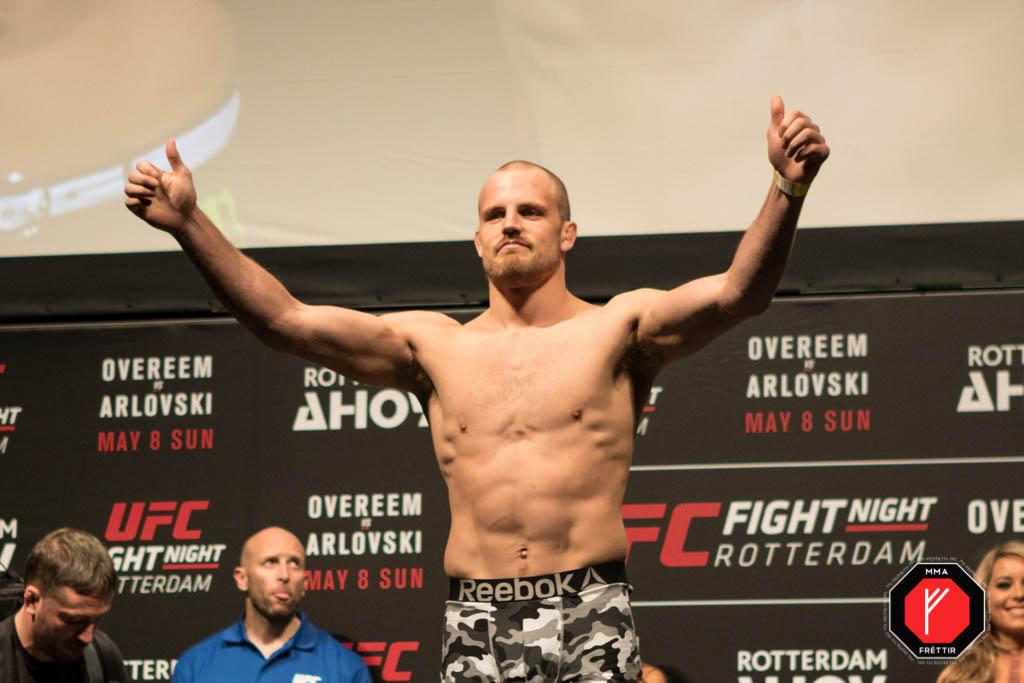 Gunnar Nelson UFC Rotterdam