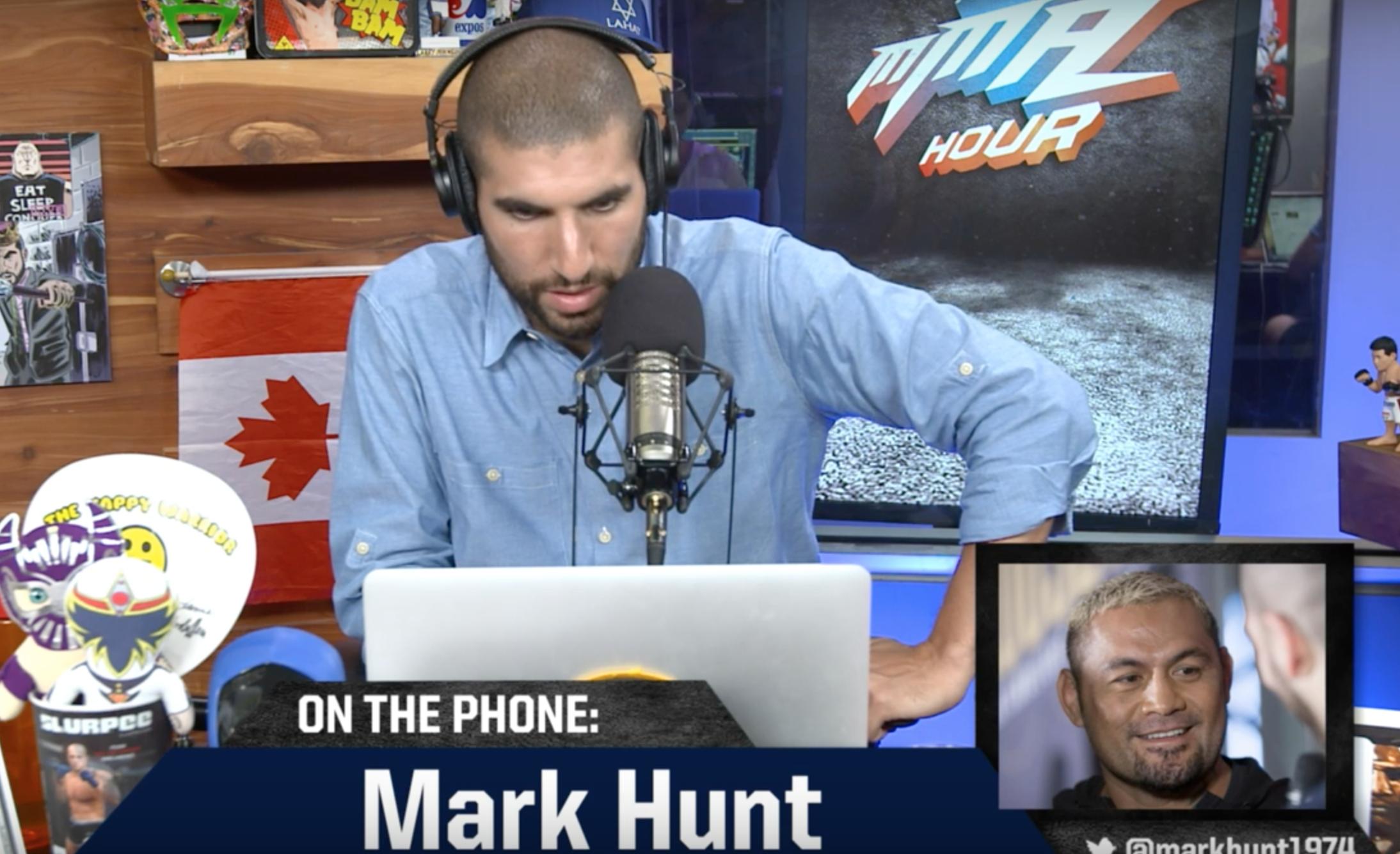Mark Hunt The MMA Hour