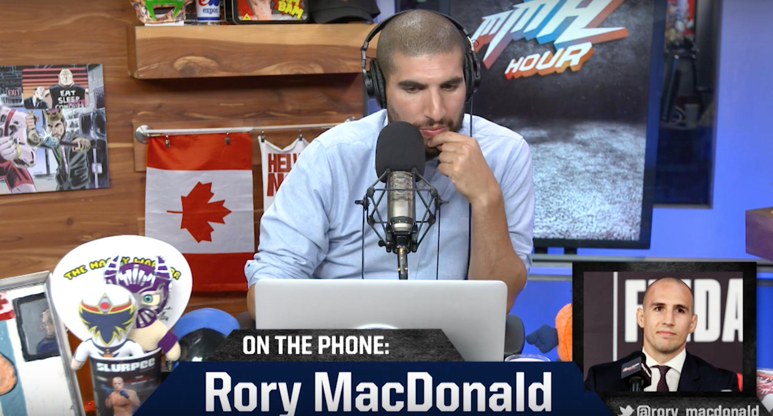 The MMA Hour Rory MacDonald