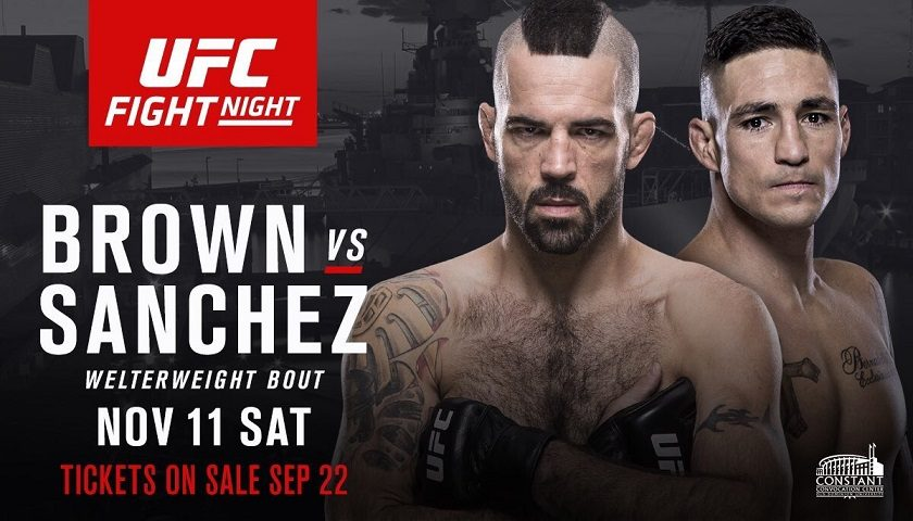 matt brown diego sanchez
