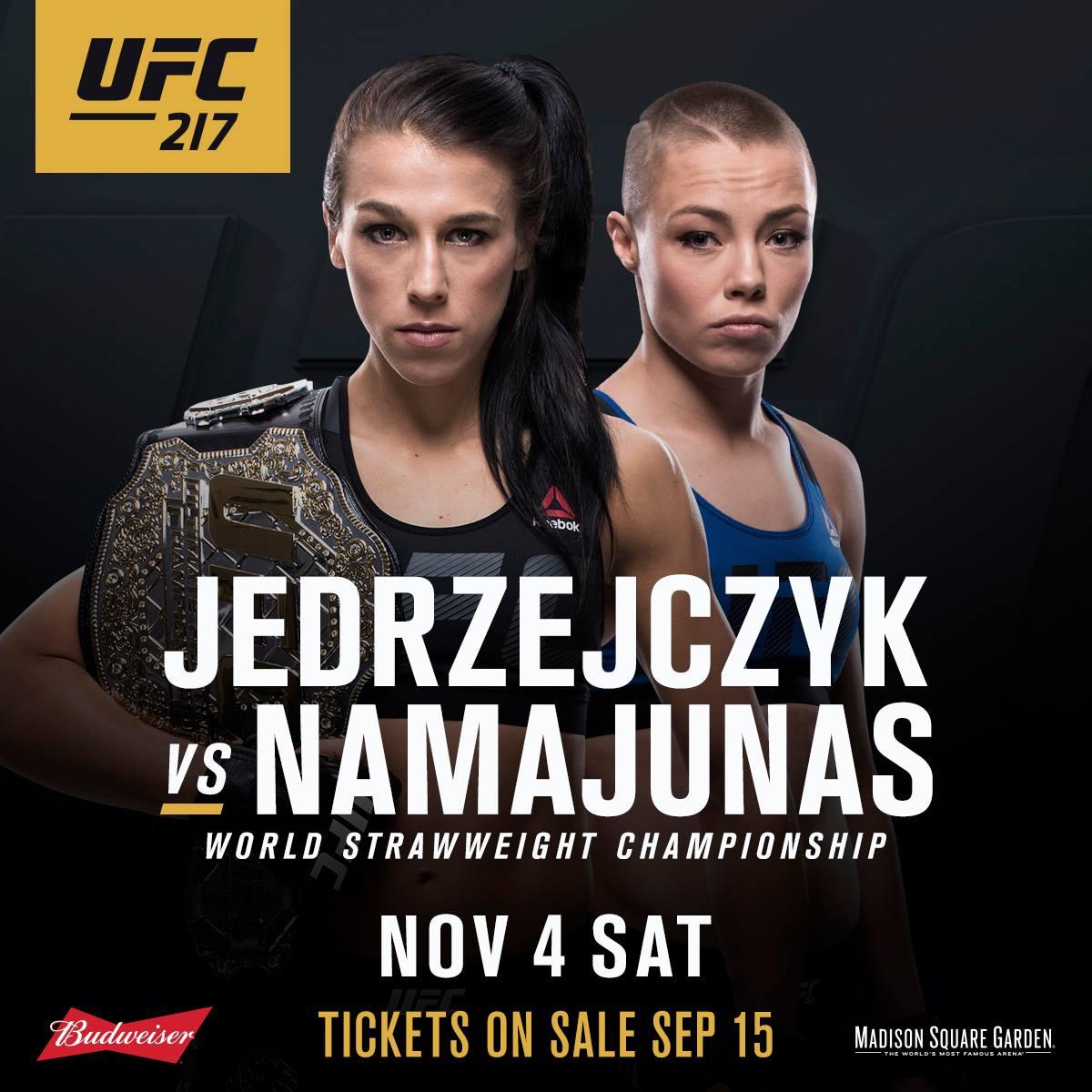 Joanna thug rose UFC 217