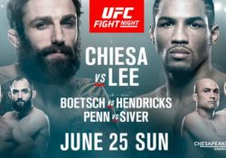 ufc fight night kevin Lee micheal Chiesa