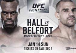 Uriah Hall gegn Vitor Belfort